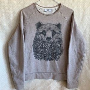 AMI Alexandre Mattiussi Bear Ami sweatshirt XS